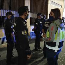 La Policía Local de Santa Cruz reforzará el control sobre fiestas este fin de semana Halloween2020