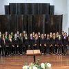 coro de voces blancas y orquesta sinfónica