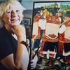 Enie Karlsson exposición de pinturas