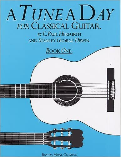 A Tune A Day For Classical Guitar Book 1 - 9780711915602