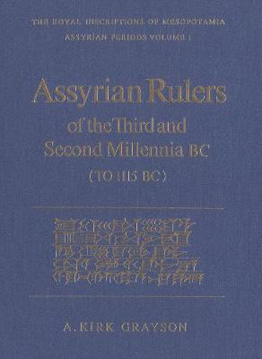 Assyrian Rulers 3rd and 2nd Millenium - 9780802026057