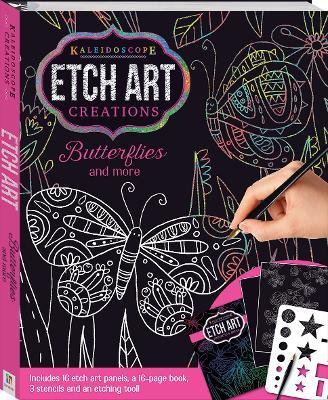 Kaleidoscope Etch Art Creations: Butterflies and More - 9781488933196