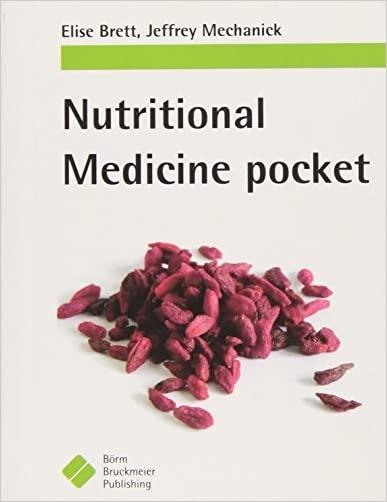 Medical Nutrition Pocket - 9781591032717