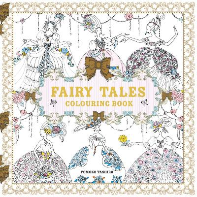 Fairy Tales Colouring Book - 9781843653165