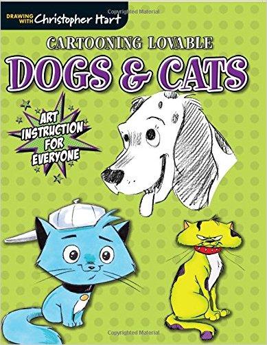 Cartooning Lovable Dogs & Cats - 9781942021131