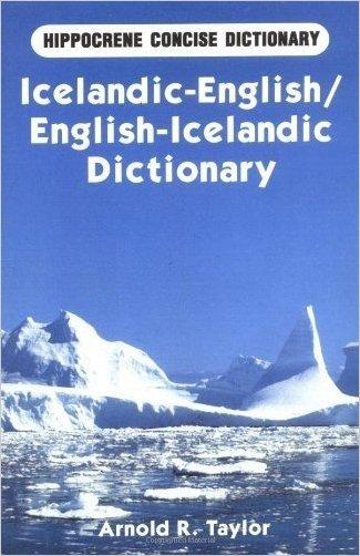 English-Icelandic Mathematical Dictionary - 9789979542155