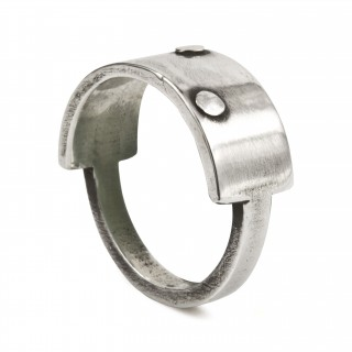 riveted plaque ring