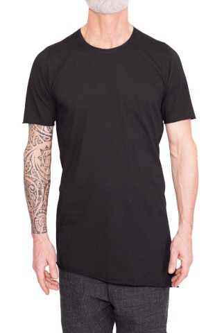 a symmetric T- shirt on the back