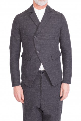 Grey tailor jacket