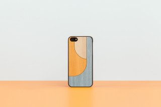 iPhone 5 snap-on cover PATCHWORK ORANGE
