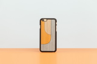 iPhone 6 snap-on cover PATCHWORK ORANGE