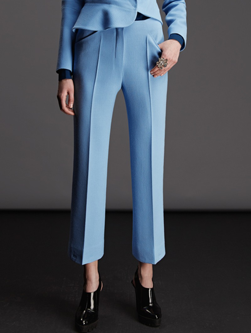 CLASSICAL NARROW TROUSERS