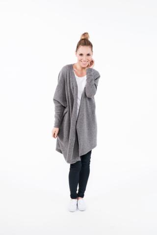 LeMuse Grey wide cardigan