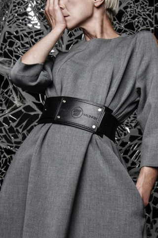 Leather Rebel belt