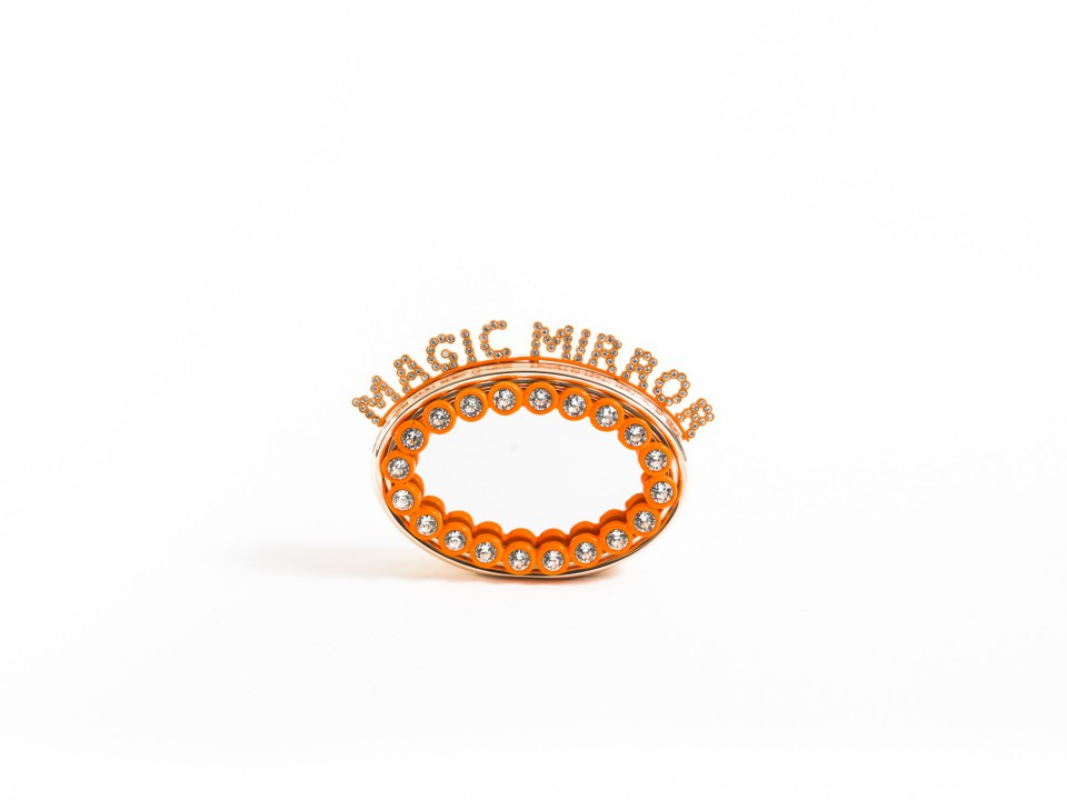 Magic Mirror with Lights Castons