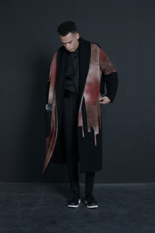 Dropped Shoulder Coat