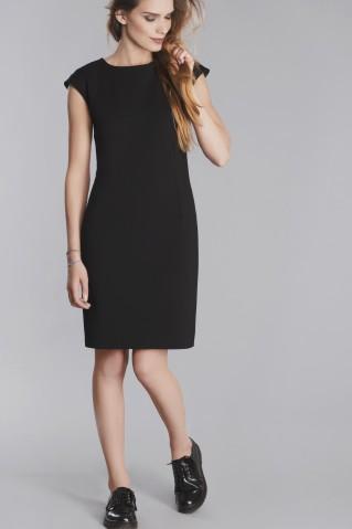 Little black dress with zipper