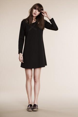 Black X dress