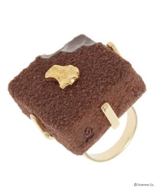 Luxe Chocolat Ring