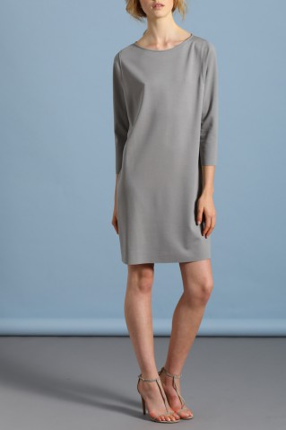 geometric dress light viscose