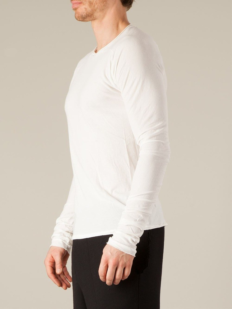 fitted long sleeve t-shirt