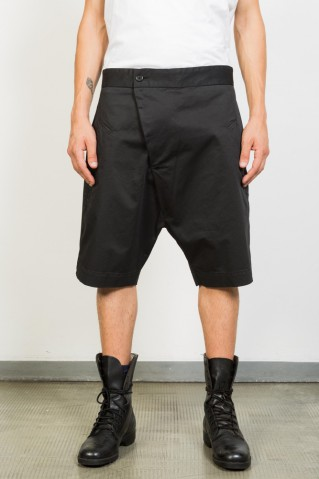 Asymmetric Low Crotch Shorts