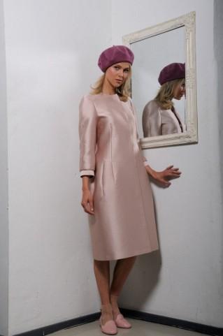 Silk coat Jacquiline