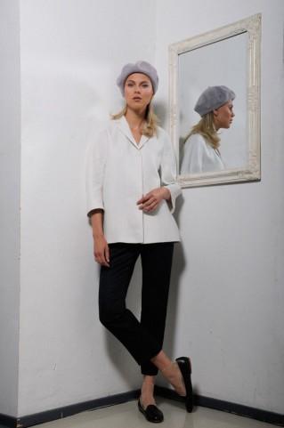 Cocoon jacket Amelie linen