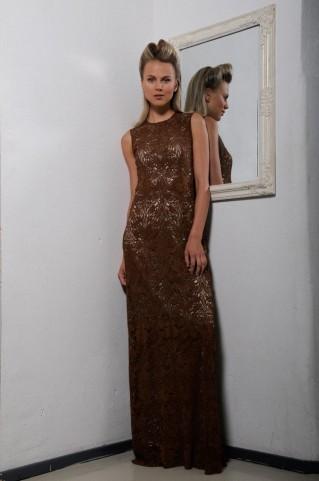 Full-length evening dress Natalle