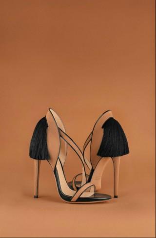 miranda beige high heell sandal