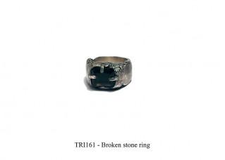 Broken stone ring