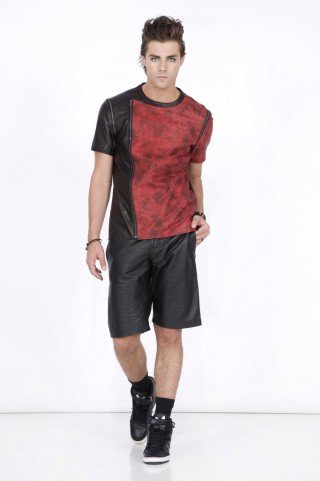 HARVEY ASYMMETRIC T SHIRT
