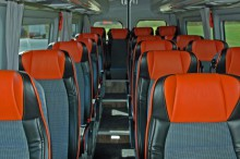 20 persoons miditouringcar interieur