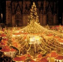 Kerstinkopen kerstshoppen Keulen