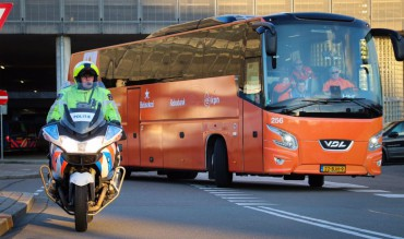 NOC NSF TeamNL Spelersbus