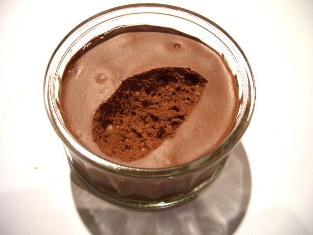 An Unapologetic Chocolate Mousse