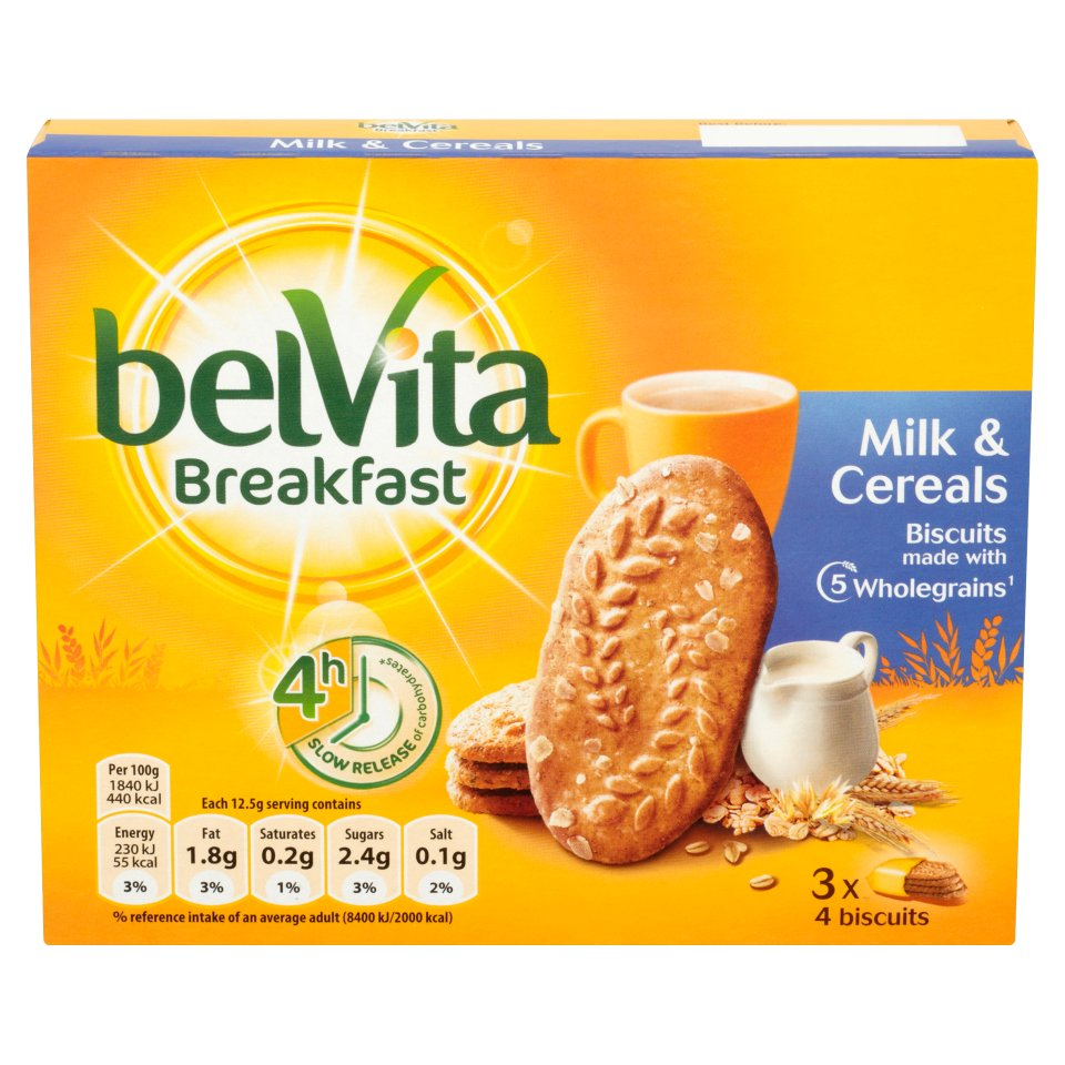 Belvita Breakfast Biscuits – eat your heart out