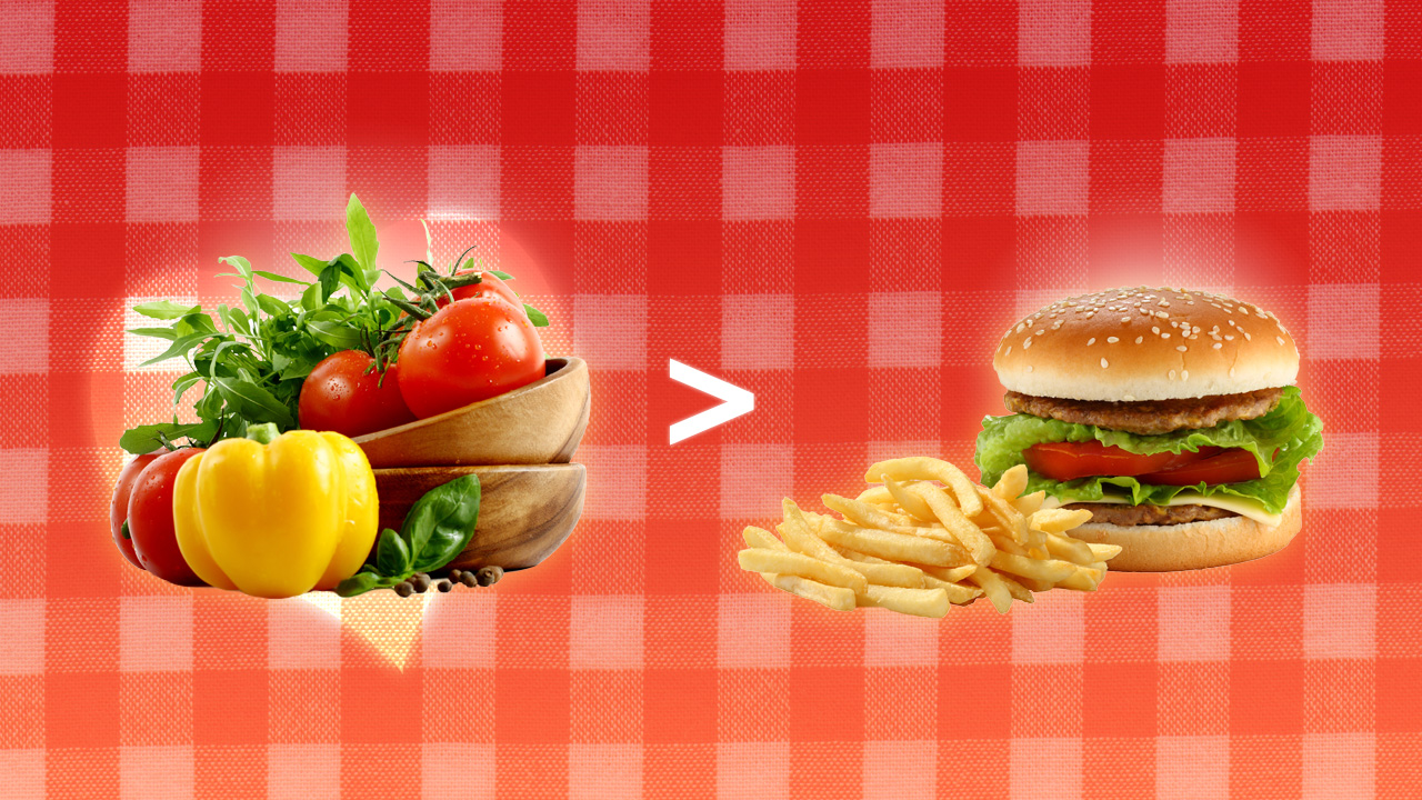 Healthy eating or eating healthily?