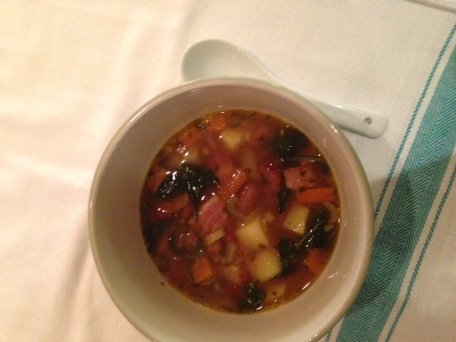An ode to soup and a recipe for Minestrone