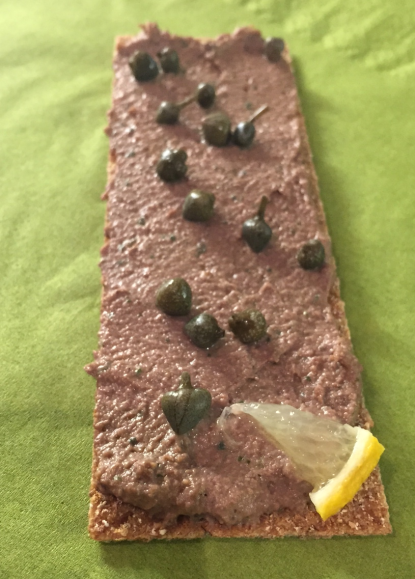 Krill Oil or Chicken Liver and Port Mousse?