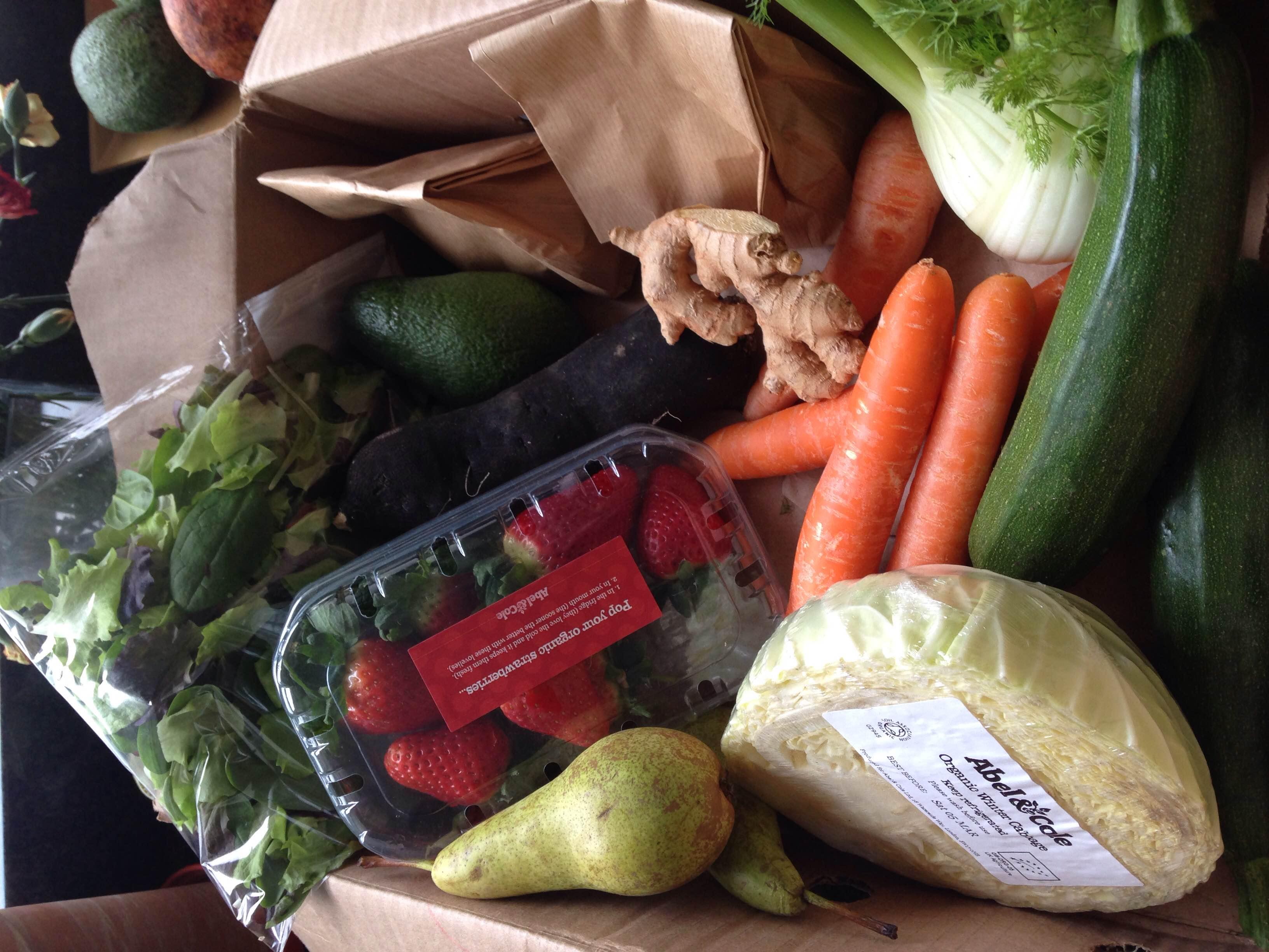 How to eat more veg: get a vegbox