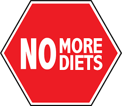 I have had enough of wasting time and money on fad diets that don't work.  I want to enjoy eating healthily and sensibly.  I pledge to stop dieting in 2016, join me!