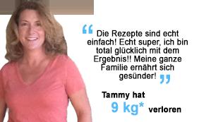 Tammy hat 9 kg verloren