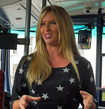 Brooke's onboard with BUSFORUS
