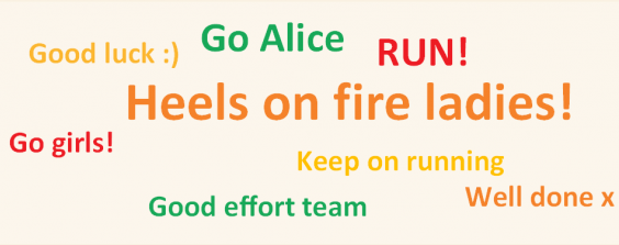 Run-for-charity-word-cloud