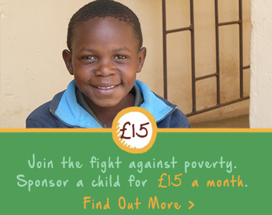 Sponsor a child for £15 a month