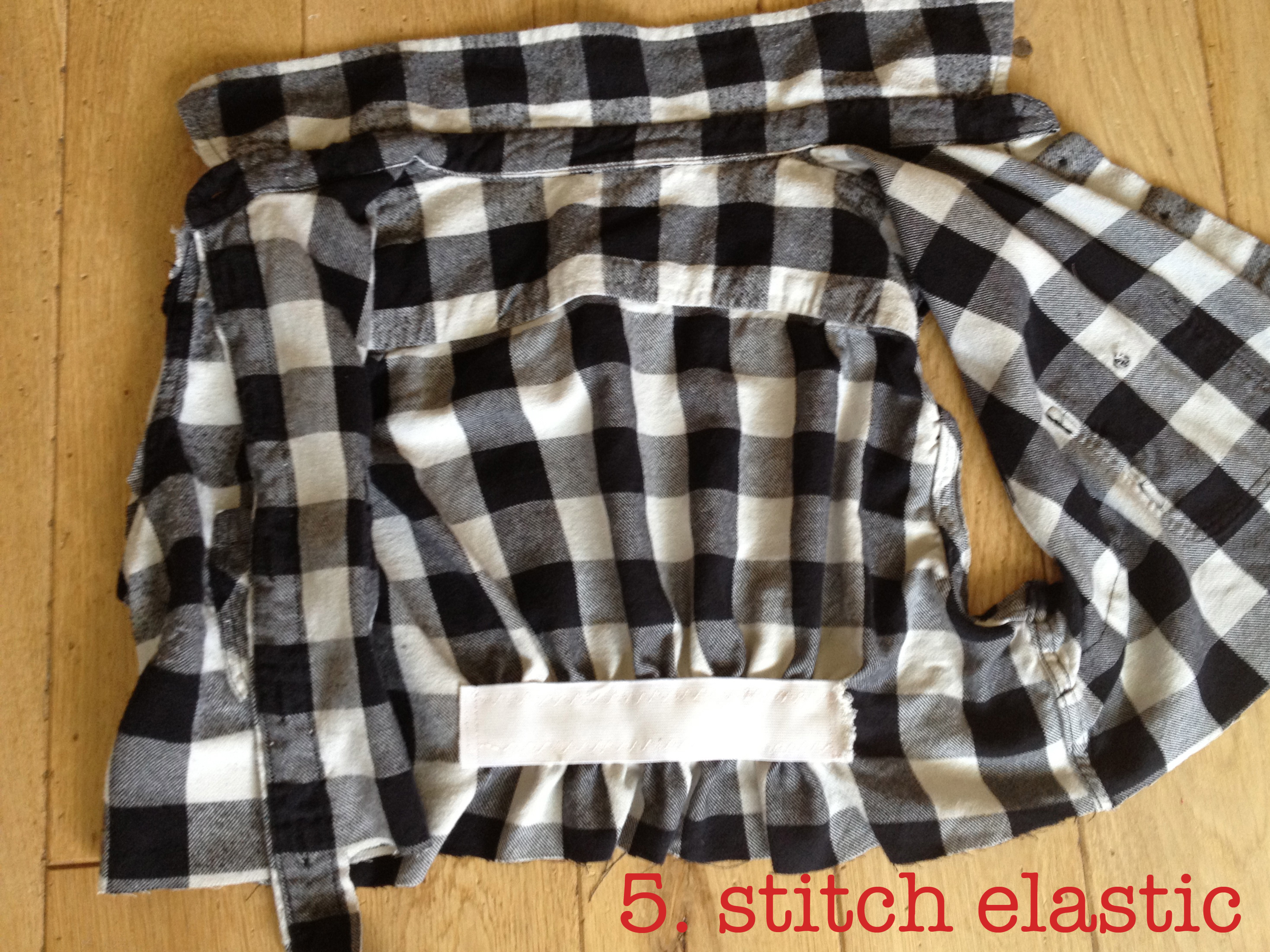 Diy cropped flannel shirt by hand london for Places to buy flannel shirts