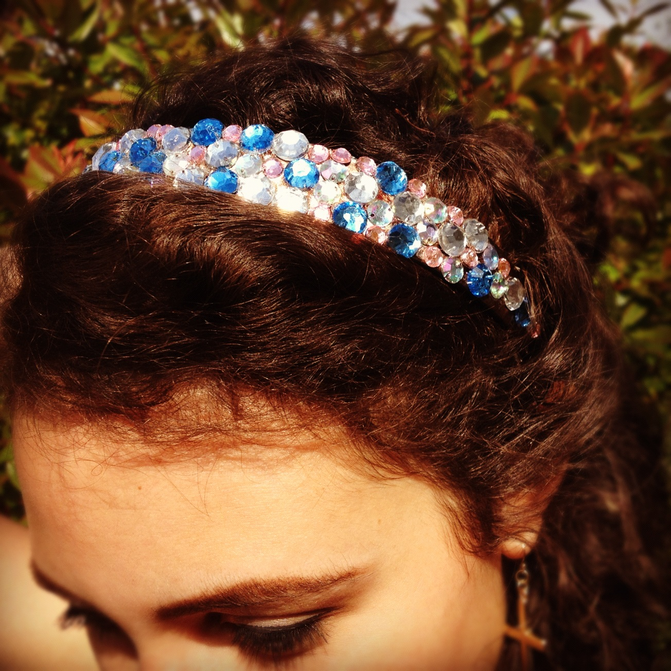 DIY jewelled Alicebands