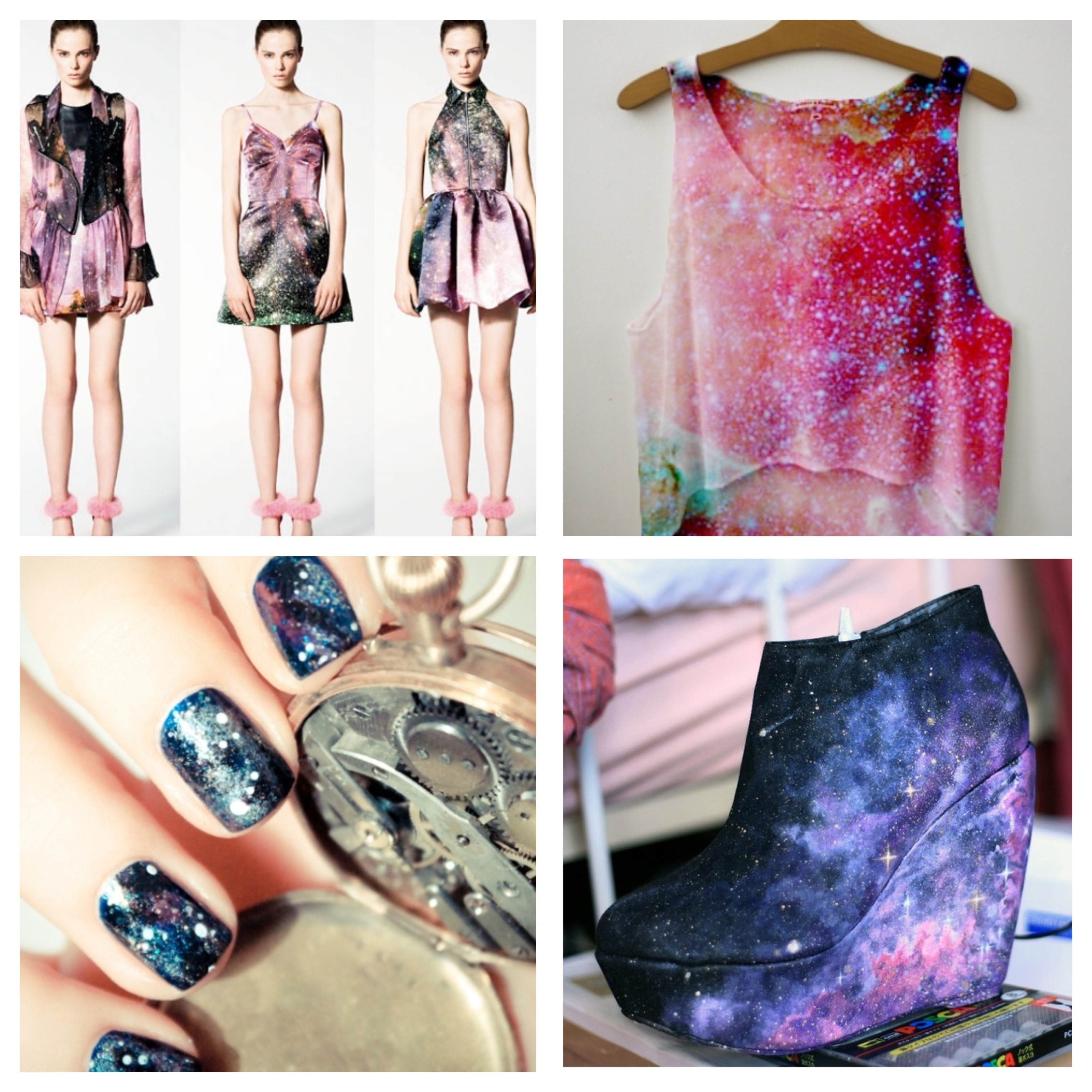 diy galaxy print t shirt by hand london. Black Bedroom Furniture Sets. Home Design Ideas