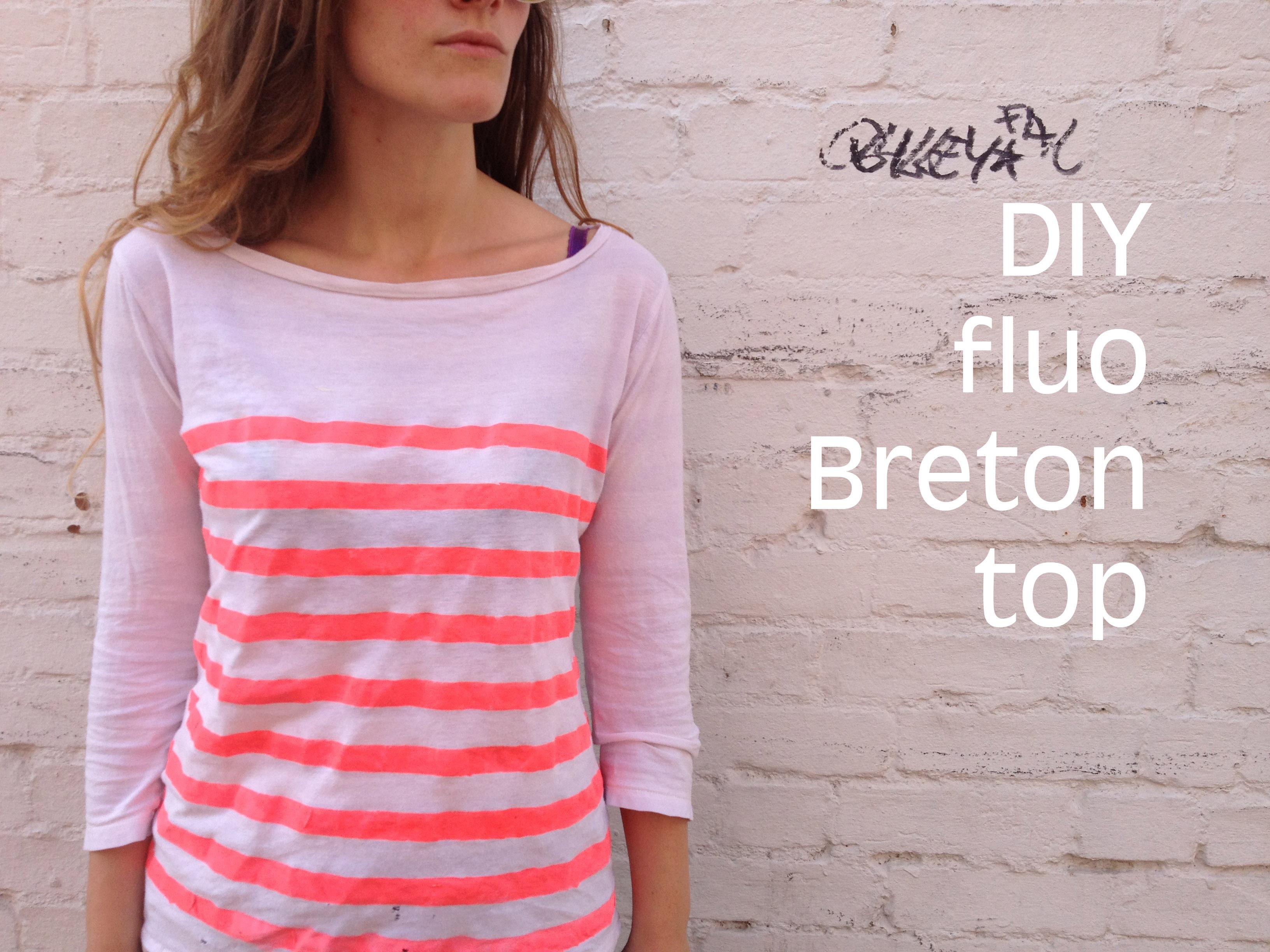 DIY Fluo Breton
